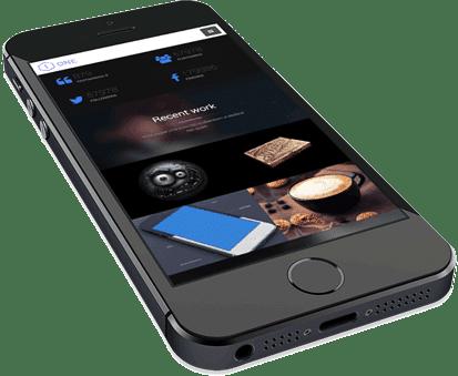 WordPress Agentur - WordPress Design mobil