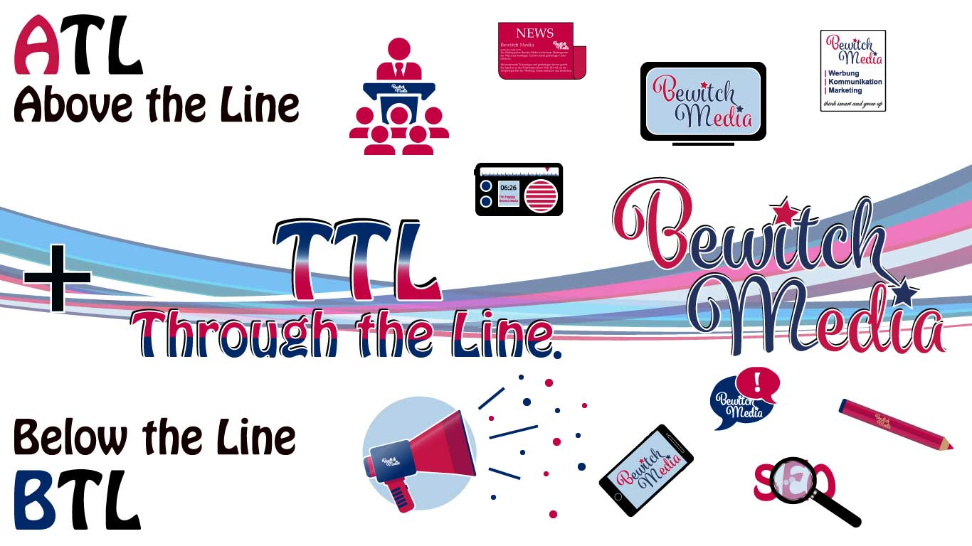 Through the Line Bewitch Media - Medien und Werbeagentur
