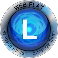 WEB FLAT L Website Homepage mieten