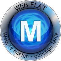 WEB FLAT M Website Homepage mieten
