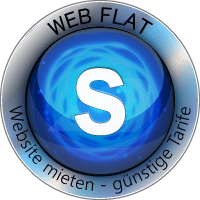 WEB FLAT S Website Homepage mieten