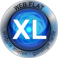 WEB FLAT XL Website Homepage mieten