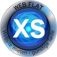 WEB FLAT XS Website Homepage mieten