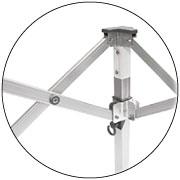 Produkt Faltzelt 8x4 Meter Aluminium Scherenprofile