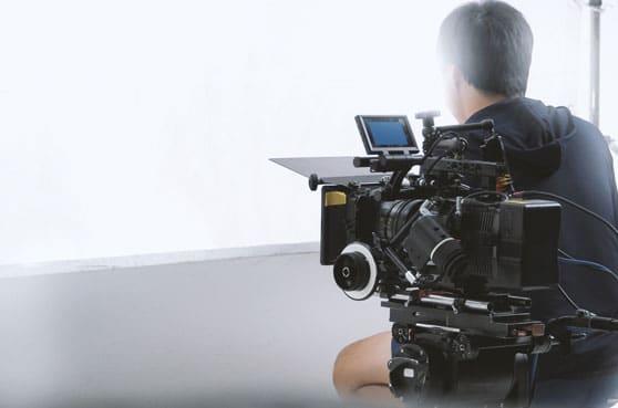 Mediabuchung Contentbild - Kinospot Dreharbeiten
