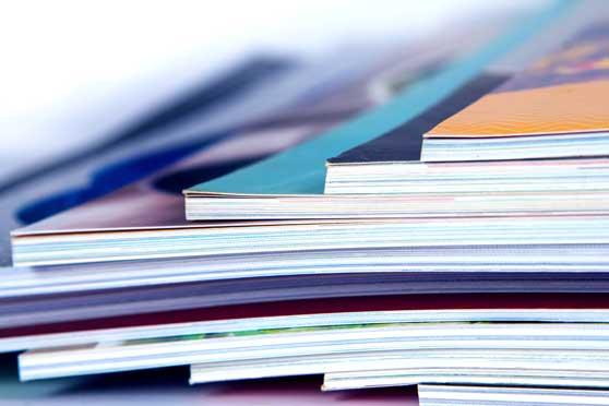 Mediabuchung Contentbild - Zeitschriften