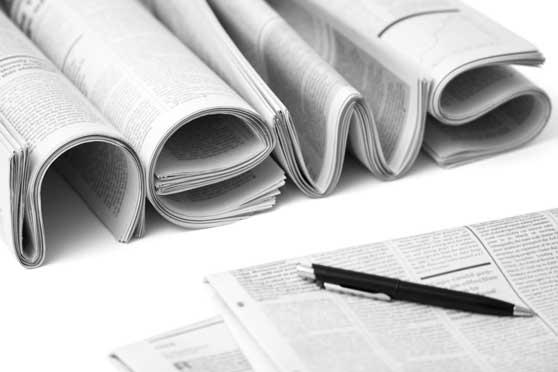 Mediabuchung Contentbild - Zeitungen