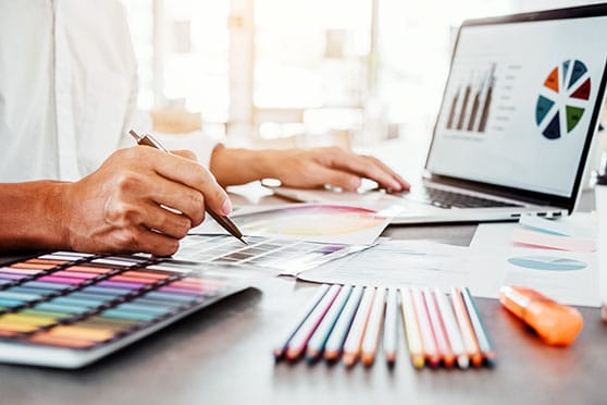 Corporate Design Content Bild - Entwicklung Design