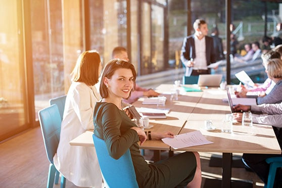 Corporate Design Content Bild - Team Besprechung