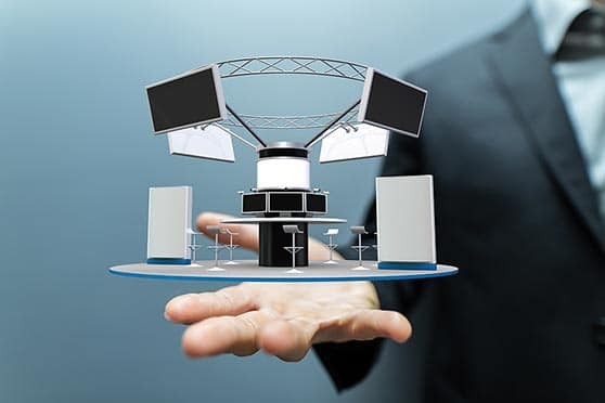 Messe Präsentation Content Bild - Messestand 3D Planung
