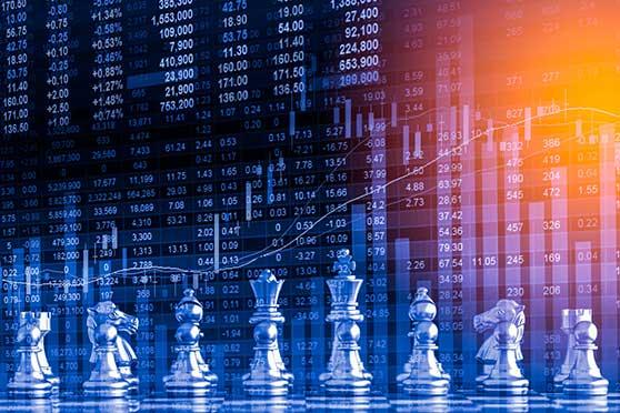 Sponsoring Content Bild - Strategie Auswahl Schachfeld Analyse