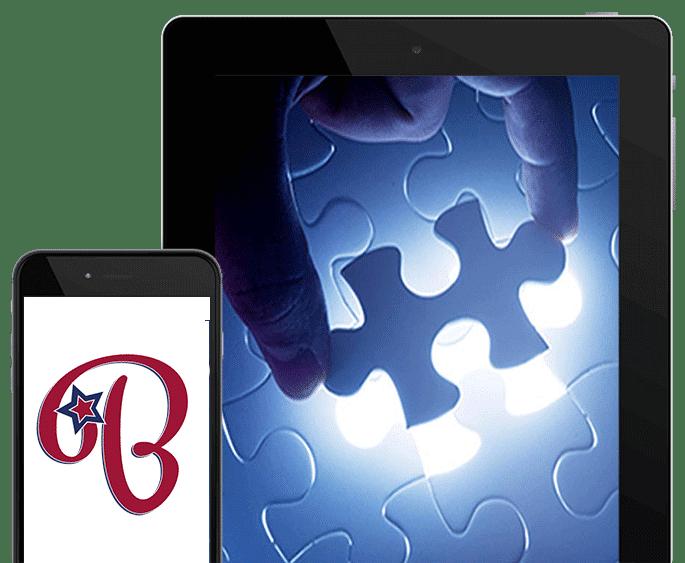 Website Mieten - Content Bild Tablet und Smartphone