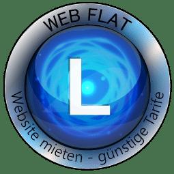 Website Mieten - Content Bild Web Flat L Logo