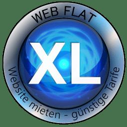 Website Mieten - Content Bild Web Flat XL Logo
