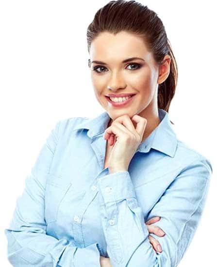 WordPress Agentur Content Bild - Frau als Beraterin