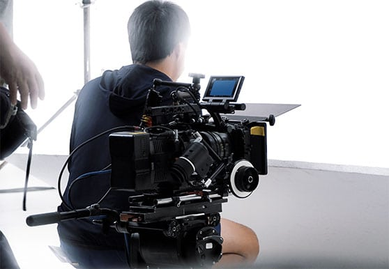 Branchenspezifische Filme Content Bild - Kamara im Studio