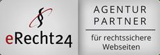 Datenschutzerklärung Agentur Partner eRecht24 Logo
