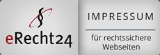 Impressum eRecht24 Logo