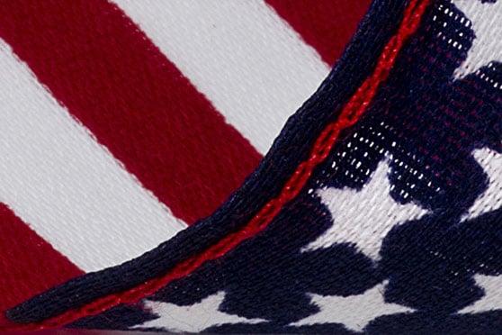 Text Content Content Bild - Ausschnitt der USA Flagge