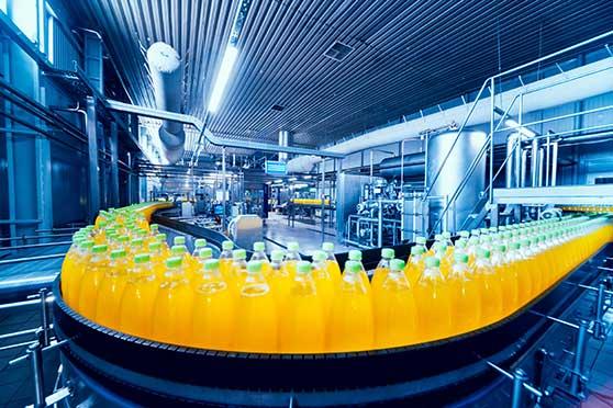 Unternehmensfilm Content Bild - Getränkeindustrie - Werkseinblick