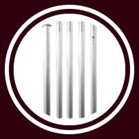 Startent® 40 Set sandfarbend - Detailbild - Zeltstangen