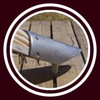 Startent® 40 Set sandfarbend - Detailbild - Zeltverankerung