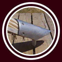 Startent® 40 Set standardfarbe - Detailbild - Zeltverankerung