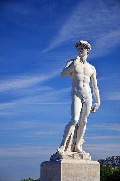 Website Inhalte richtig gestalten - Content Bild - Statue David